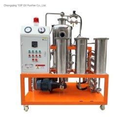Cp-S-10 de acero inoxidable de grado alimenticio aceite de cocinar el purificador Máquina al proceso que utiliza el aceite de coco aceite Freidora