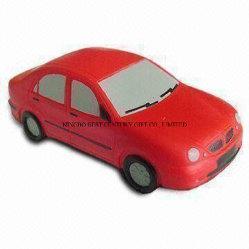 Mitigatore promozionale di sforzo del giocattolo dei bambini dei capretti di compressione dell'automobile di figura della gomma piuma su ordinazione dell'unità di elaborazione