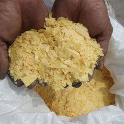 10 стр/мин сульфида натрия желтый хлопья 60%