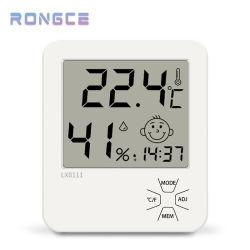 Hygrothermograph prático mini-higrómetro digital Termômetro prático instrumento de medição para casa de banho interior do escritório