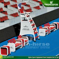 Reproductor de silla de árbitros de Tenis de aluminio sillas para que China abra