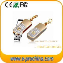 O logotipo personalizado Crystal Pen Drive USB Flash Memory Stick (ES194)