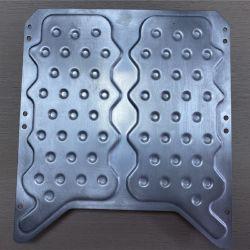 Piatto di alluminio refrigerante di liquidi per i veicoli elettrici