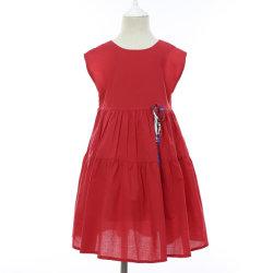 Nuevo 2019 Primavera/Verano del 100% algodón suave de la moda ropa de playa caliente vestido para bebé/niño/bebé