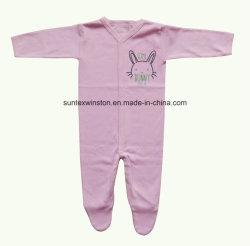 Vêtements 100% nouveau-nés de bébé de tissu de couplage de coton
