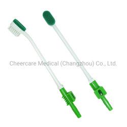 Одноразовые медицинские губки всасывания зубной щетки всасывания ухода за полостью рта ватный тампон