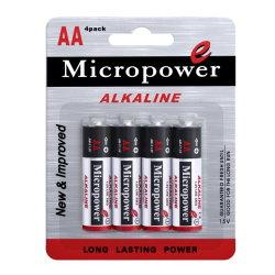 Micropower Tamanho AA LR6 AM3 Bateria Primária para câmara digital