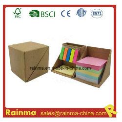 Eco el Bloc de notas con cartón pluma titular para la Oficina Escolar y promoción de uso
