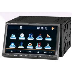 7인치 플립다운 자동차 DVD 플레이어, 터치 스크린, GPS, Bluetooth, TV, iPod(YZ7002)