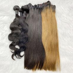 100% 8A درجة أسعار لcutle الانحياز Bundles، آلة بيع الشعر في موزمبيق، ريال برازيلي غير معالجة الشعر البشري المستقيم