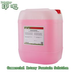 La impresión rotativa Commerial termoendurecible solución humectante