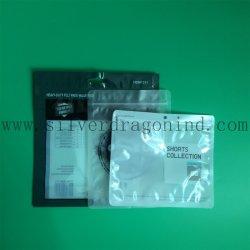 De transparante Zak van de Verpakking van pvc met Ritssluiting en Afgedrukt