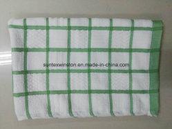 O algodão e toalhas de cozinha de microfibras 20%algodão & 72%8%poliamida e poliéster