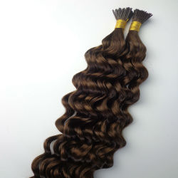 Unproessed 8 Grau Stick Dica Extensão de cabelo queratina Extensão de cabelo