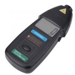 최대 환영받은 비 디지털 Laser 사진 속도 기록계 접촉 Rpm 검사자 미터 계기 (DT2234C)