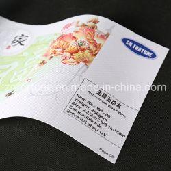 La impresión de gran formato Lienzo de pared Pared Non-Woven Fabric WF-08