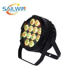 영국 스톡 무선 12X18W 6in1 RGBW + UV 동선 LED 스테이지 파 라이트 DJ 조명