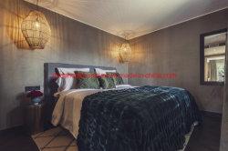 유럽 작풍 호텔 디자인 침실 가구는 침대와 소파로 놓았다