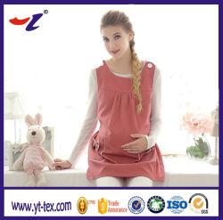 Tecido da onda eletromagnética de blindagem de protecção contra radiações condutora de roupa para Mulheres Grávidas