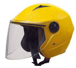 販売のための新しい開いた表面オートバイのCascoのジェット機のヘルメット