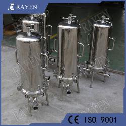 Пищевой нержавеющей стали с одним фильтром жидкости корпуса картриджа фильтра