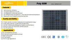TUV 증명서를 가진 40W 태양 모듈