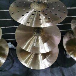 Centent Becken-Kaiser-Serien-Becken-Musikinstrument-handgemachte Trommel