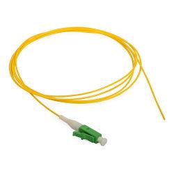 単一モードのシンプレックス9/125 LC/APC光ファイバピグテール0.9mm 1mのピグテールPatchcord