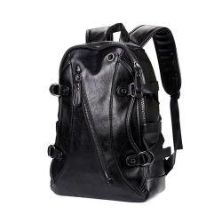 Hor la vente de la mode qui voyagent à l'école étanche cuir synthétique Bagpack sac à dos Sac à dos pour ordinateur portable sac pour Hommes Femmes