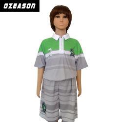La gioventù su ordinazione di sublimazione completa poco costosa all'ingrosso scherza le uniformi di calcio