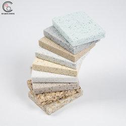 수정같은 큰 곡물 석영 싱크대를 위한 기본적인 색깔 석영 돌