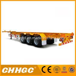 Behälter-LKW-Schlussteil-/Gooseneck-Entwurfs-halb Schlussteil der China-Marken-60 der Tonnen-40ft/Behälter-Sattelschlepper mit Torsion-Verschluss