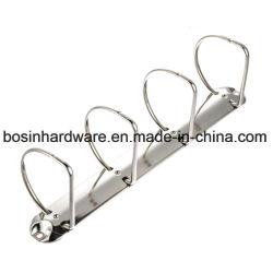 4 D forma mecanismo de Carpeta de anillas de metal