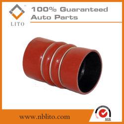 Tubo de admisión de cargador de silicona para Iveco