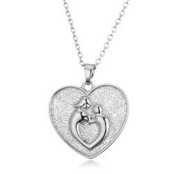 مجوهرات الأزياء لعيد الأم أفضل سعر عقد روديوم بلانت