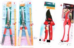Unterschiedlicher Griff-unterschiedlicher Typ Garon bearbeitet Hecke-Beschneidung-Scherscheren