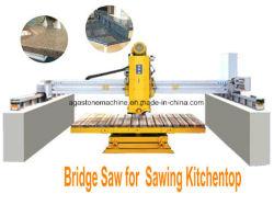 Marmer van het Graniet van de Steen van de Scherpe Machine van de brug het Automatische Zagende (HQ600)