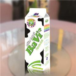 茶または水または卵の鋭い液体か乳剤または純粋なミルクまたはクリームまたはチーズまたはコーヒーまたはスパイスおよびスープまたは鞭のトッピングのカートン
