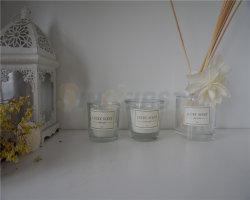 زجاجيّة مرطبان عمود رفاهية عادة يشمّ شمعة