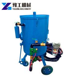 معدات التنظيف الهيكل الفولاذي المركب ماكينة التفجير الرملية