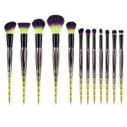 12ПК Custom-Made оптовые цены макияж природного щетки вращающегося пылесборника