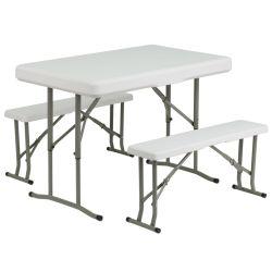 Plástico Nice-Looking mesa dobrável e bancadas de Moldes de Injecção