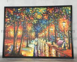 Het Olieverfschilderij van het Landschap van de Kunst van de Muur van het canvas voor het Decor van de Zaal