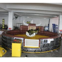 옥외 팽창식 브라운 로디오 Bull 매트 상어 기계적인 Bull