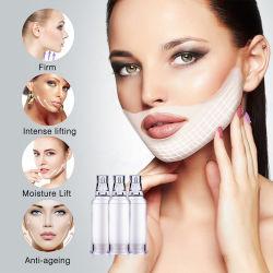 Салон красоты косметических средств по уходу за кожей в форме поверхности пленки для женщин малых в маску для лица подъема закрывается Crystal Plumper коллагена кромкой подсети розового цвета