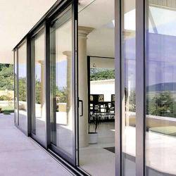سعر جيد زجاج مقسّى ألومنيوم منزلق باب زجاج معدني مع A1288 A72208