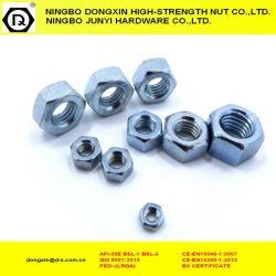 炭素鋼の十六進ナットDIN934の亜鉛によってめっきされる締める物