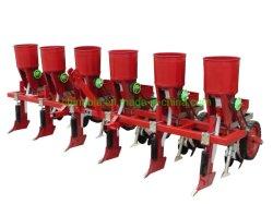 2-6 befruchten Reihen-Mais-Pflanzer-Mais-Pflanzer mit Kasten-Bauernhof-Sämaschine-Arbeit mit Traktor