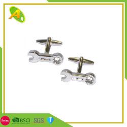 BSCIの柔らかいエナメルの銀のカフスボタン(060)