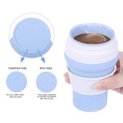 Sans BPA le commerce de gros 100 % pures du silicone de qualité alimentaire La cuvette de pliage